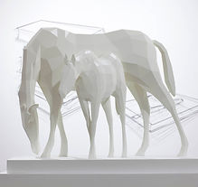 Point of view 20130710-horse 50x65x25cm