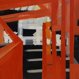 201418 2014 90x90cm  acrylic and oil canvas