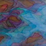 하늘그림자 2012 162.2x97cm oil on canvas, anti-uv varnish