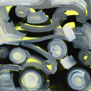 2201428 2014 90x90cm  acrylic and oil canvas