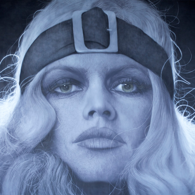 Brigitte Bardot  2018  oil on canvas  194 x 259cm