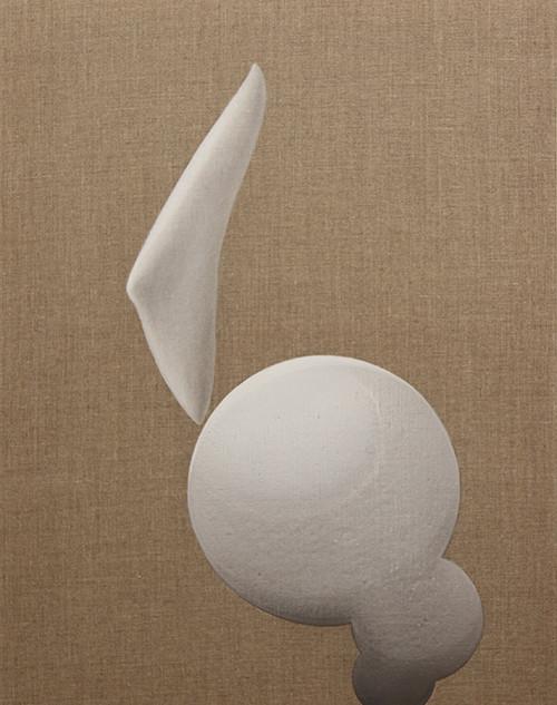 acrobat series 2012 (each 5) 02 60x80x1.8cm acrylic &mixed media on linen