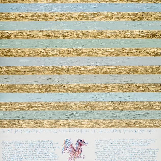 John The Evangelist 2017 116.8x91cm oil on canvas
