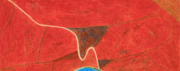 김선두 KIM Sundoo, 느린 풍경 – 덕도길 Slow Landscape – Deokdo Road, 2019, 장지에 분채 Color pigment on Ja