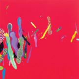 Color Phantasmagoria 2011 100x100cm oil on canvas