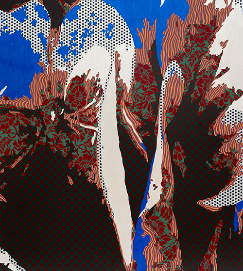Inscape Scape 2017 180x160cm acrylic on canvas