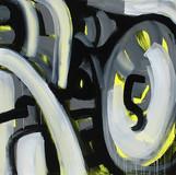 201423 2014 90x90cm  acrylic and oil canvas