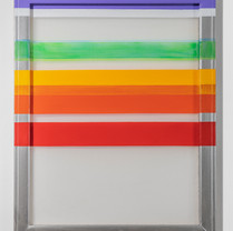 Loose Solidarity_02 90.9 X 72.7cm acrylic on chiffon, wooden frame 2020