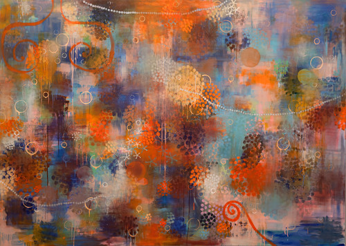 An Azure 푸른 남빛 2010-2011 152x213cm oil on canvas
