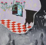 한 의자의 그림자 방 the Shadow Room of a Chair 2010 65x53cm oil on canvas