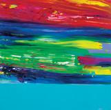 Color Phantasmagoria 2011 70x70cm oil on canvas