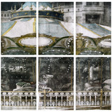 The universe (부분2) 2012 645x202cm  handcolouring over an aquatint
