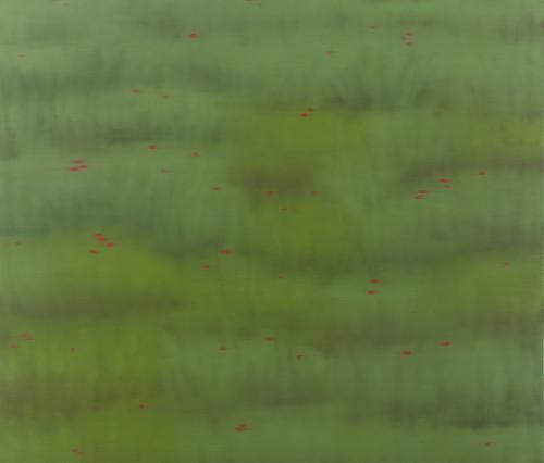 vermilion-crimson 3 2013 140x162.2cm oil on canvas