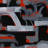 201426 2014 90x90cm  acrylic and oil canvas