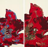 Inscape Scape 2015 194x97cm(each) acrylic on canvas