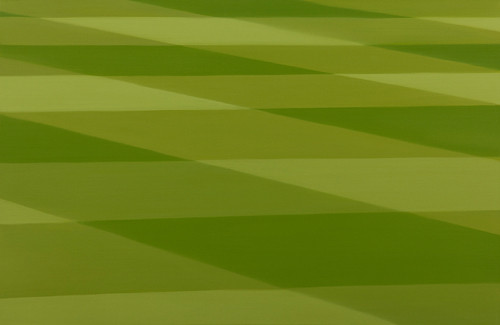green-grid 2012 65.1x100.0cm oil on canvas