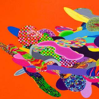 Color Phantasmagoria (부분2) 2012 364x182cm oil on canvas