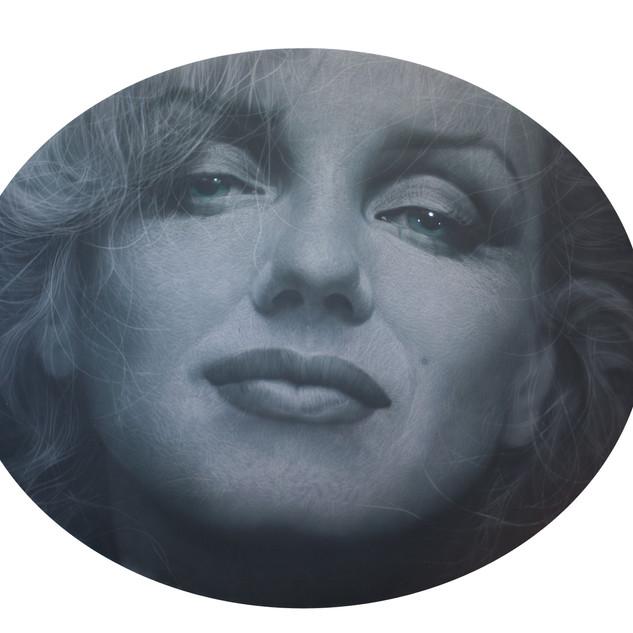 m.monroe  2018  oil on canvas  D120cm x 150cm