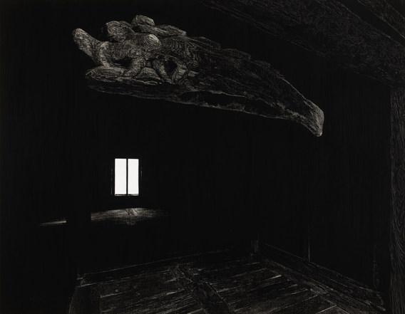목어 (Wooden Fish Gong, 화암사 우화루), 새김, Oil