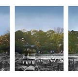 창덕궁 Chang Deok Goong 2010 95x127cm x3EA Lambda Print