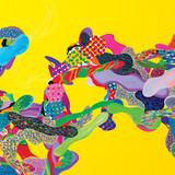 Color Phantasmagoria (부분1) 2011 350x150cm oil on canvas