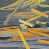 201411  2014 90x90cm  acrylic and oil canvas