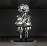 future lyricism 2011es1 2011 100x95x220cm stainless steel