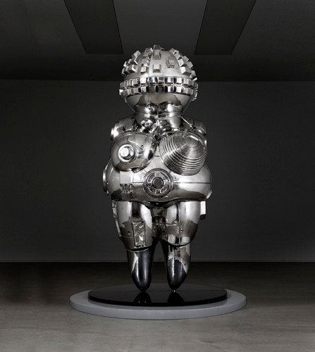 future lyricism 2011es1 2011 100x95x220cm stainless steel