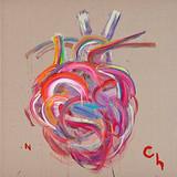 정직한 심장 Honest Heart 2015 130x130cm Acrylic on canvas
