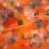 Stirring(살랑거림) 2011 152x213cm oil on canvas