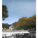 창덕궁 Chang Deok Goong 부분1 2010 95x127cm x3EA Lambda Print