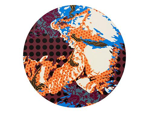 Inscape Scape 2016 60cm acrylic on canvas