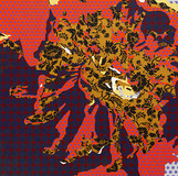 Inscape Scape 2015 70x70cm acrylic on canvas