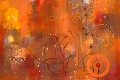 In Full Bloom-fall 137x96cm oil on canva