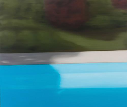 azur-pool 1 2013 140x162.2cm oil on canvas