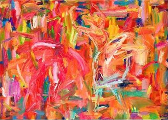 춤 2008 91x65cm Oil on Canvas