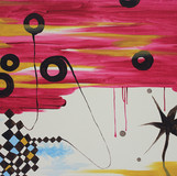 붉은 하늘 녹아내리듯 2010 53x65cm oil on canvas