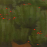 vermilion-crimson 2012 65.1x90.9cm oil on canvas