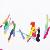 Color Phantasmagoria (부분2) 2012 600x130cm oil on canvas