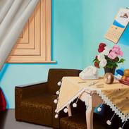 30 (Her Room) 2016-7 112 x 162cm oil on linen