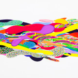Color Phantasmagoria 2012 240x120cm oil on canvas