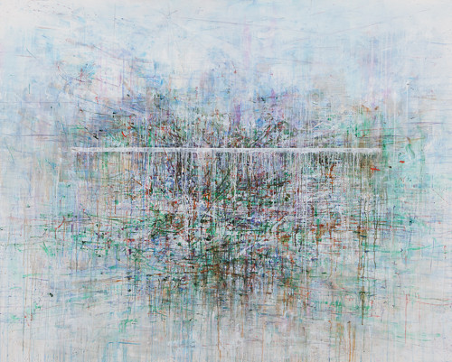 Untitled100927-729001 (glass house) 2010 130x162cm oil on linen