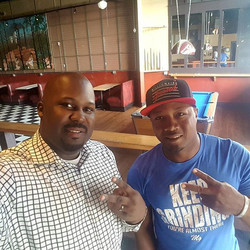 Me and my guy Lawrence Thompson discussing progressive business planning_#getcreative #LegacyLivin #