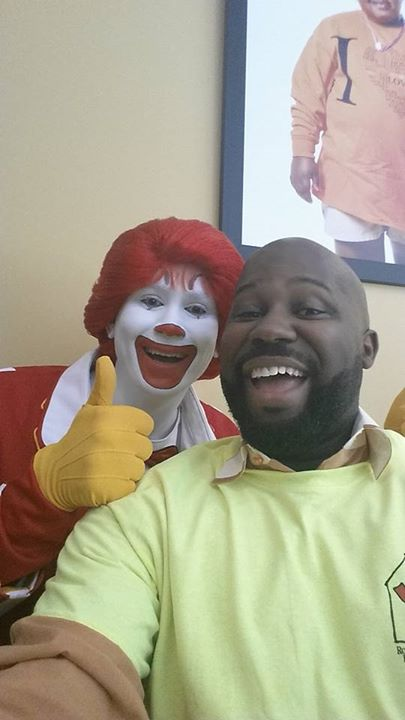 One is a clown....