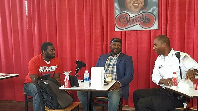Great podcast today at Makeda's Cookies!