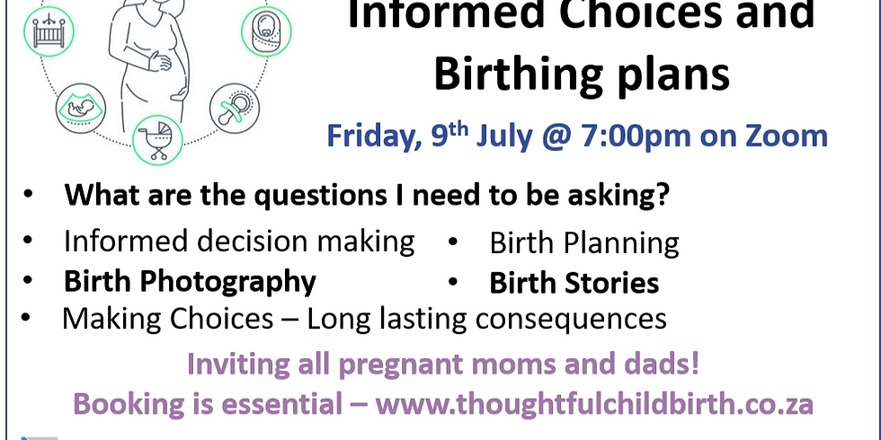 Informed Choices and Birthing Plans