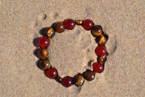 Red Roses- healing bracelet