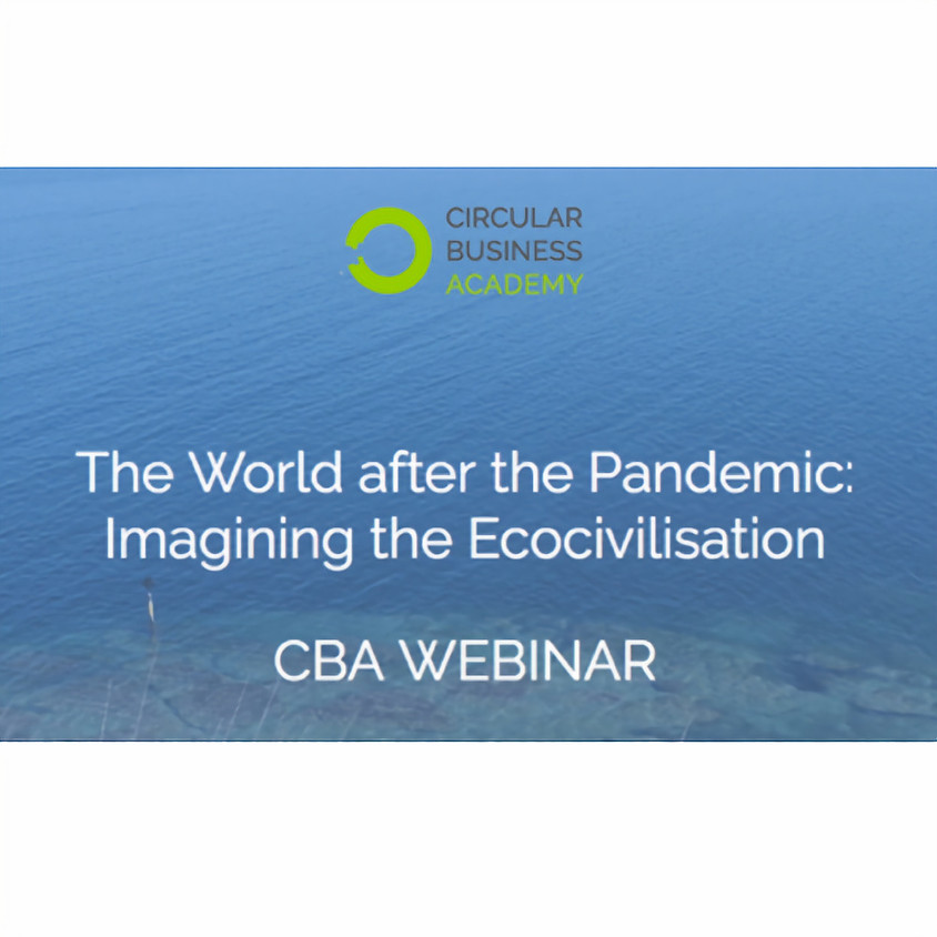 The World after the Pandemic: Imagining the Ecocivilisation