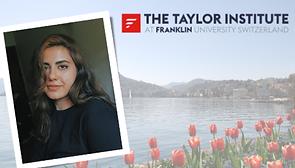 Taylor Institute second Long-Life Learning Scholar Sana Tajangi 23