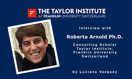 Interview with Professor Dr. Roberta Arnold by Luciana Vazquez